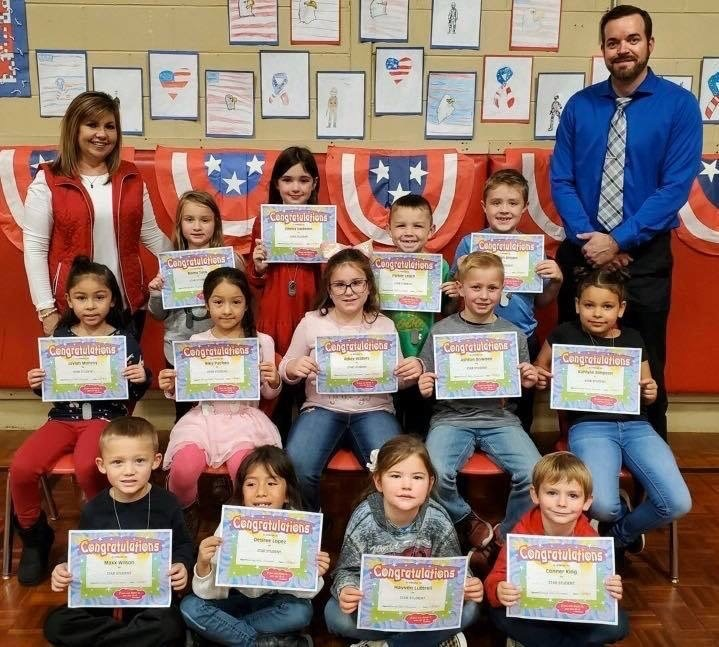 MES November Star Students