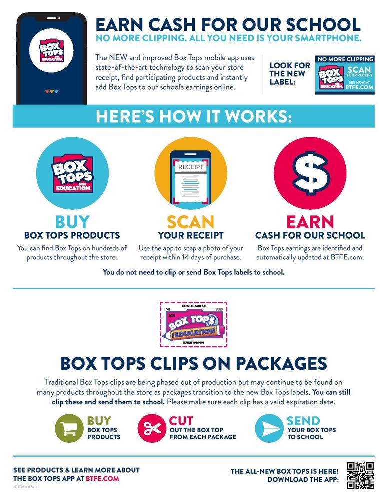 New Way To Collect Box Tops!