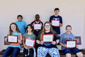 MMS August Students of The Month